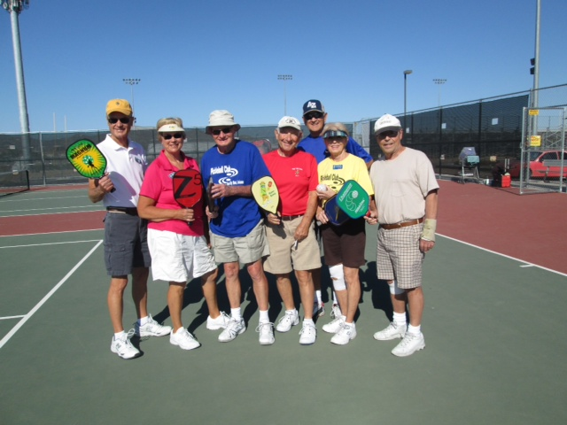 Teaching Pickleball at Willow Creek High School