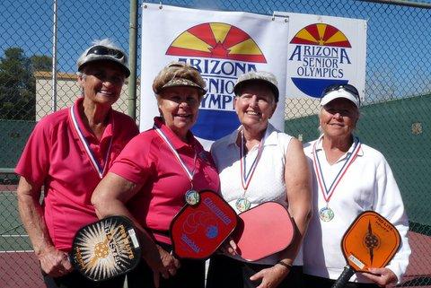 Faye & Dori - Senior Olympics